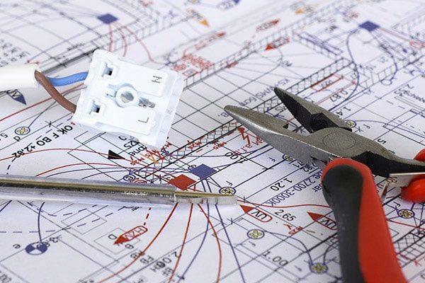 elektriker roskilde el-entreprise plantegning ledning 600x400